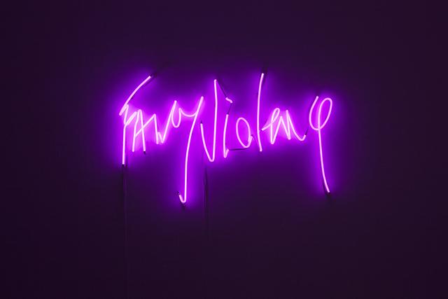 , 'Fancy Violence,' 2014, Carbono Galeria