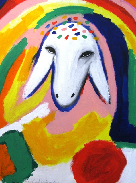 , 'Sheep Portrait with Rainbow,' , Galerie AM PARK