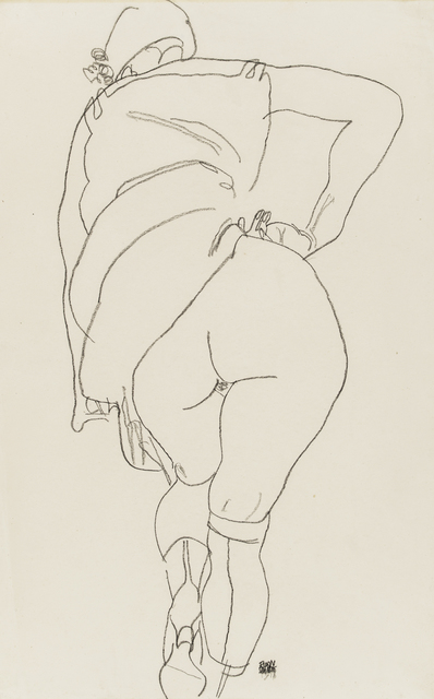 , 'Semi-Nude, Back View,' 1918, Galerie St. Etienne