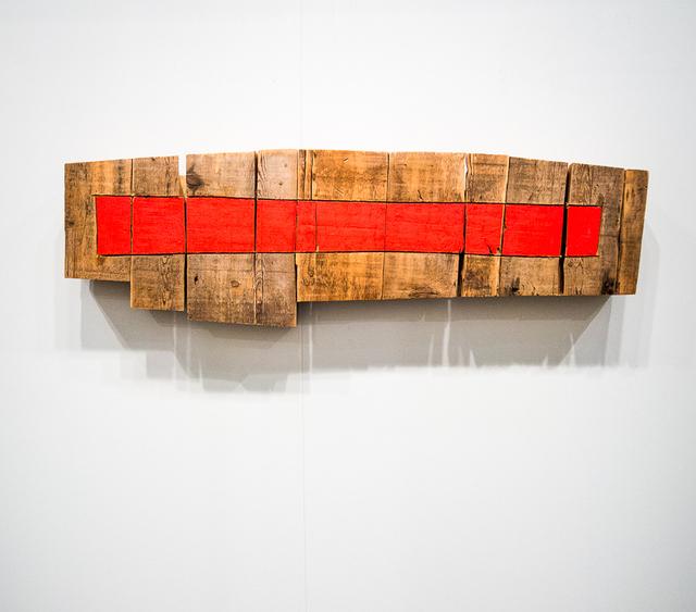 , 'Wood wallpiece,' 2005, Galleria Fumagalli
