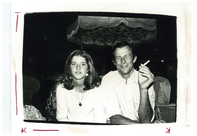 Andy Warhol, 'Andy Warhol, Photograph of Caroline Kennedy and Peter Beard circa 1975', ca. 1975, Hedges Projects