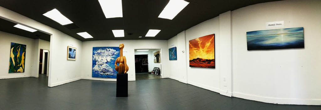 Front gallery installation (from left):