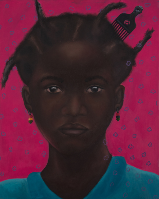Solomon Adufah, 'You Will See Her Questions Before You Hear Them', 2018, Galerie Frank Pages