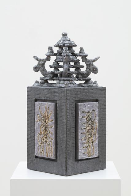 Marika Mäkelä, 'Protector of Life, Dark Silver', 2019, Galerie Forsblom