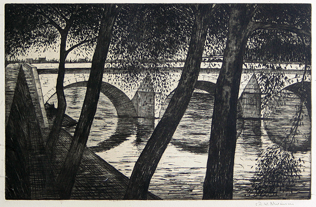 , 'Pont Royal,' 1922, Gerrish Fine Art
