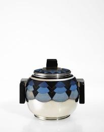 "Henri Lapparra, '""Mikado"" Covered Sugar Bowl,' circa 1930, Sotheby's: Important Design"