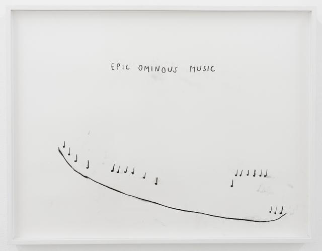 , 'Epic Ominous Music,' 2018, François Ghebaly