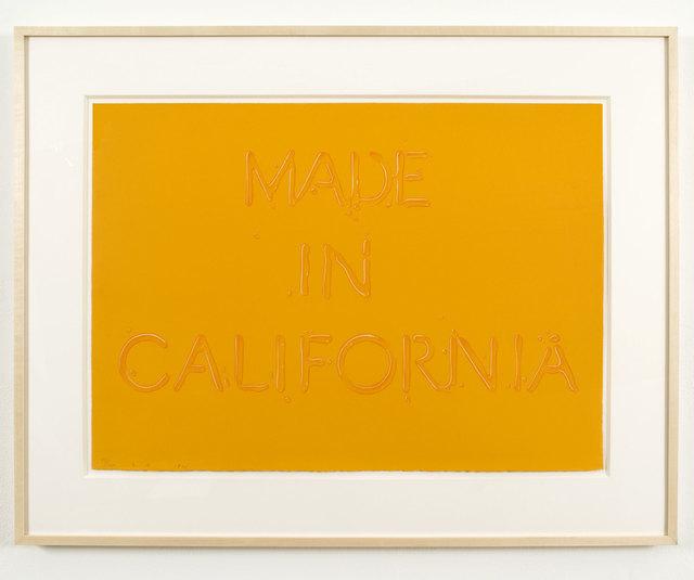 Ed Ruscha, 'Made in California', 1971, Brooke Alexander, Inc.