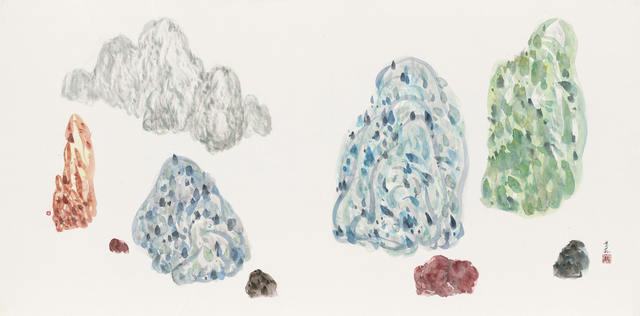 , 'Discrete Islands No. 32,' 2013, Tina Keng Gallery