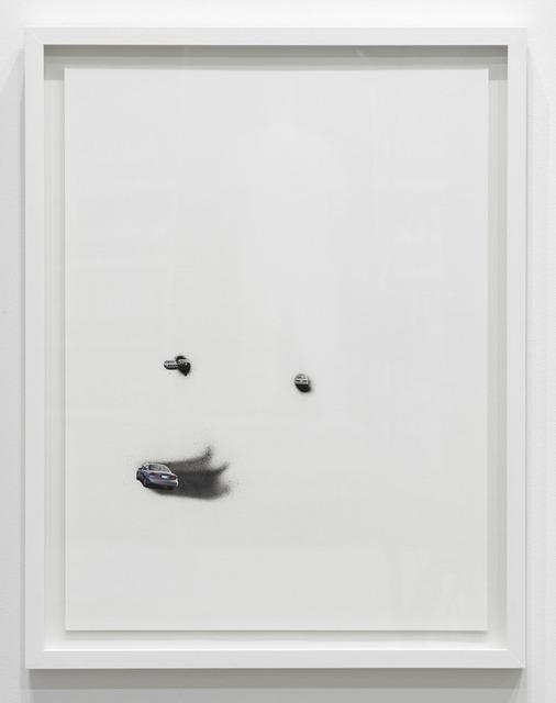 , 'Untitled (4 Cars Blue),' 2016, Diane Rosenstein