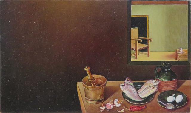 """, 'De la serie Desnudos (El eslabón perdido). Diego Velásquez, """"Cristo en casa de Marta y María,' 2016, Fernando Pradilla/El Museo"""