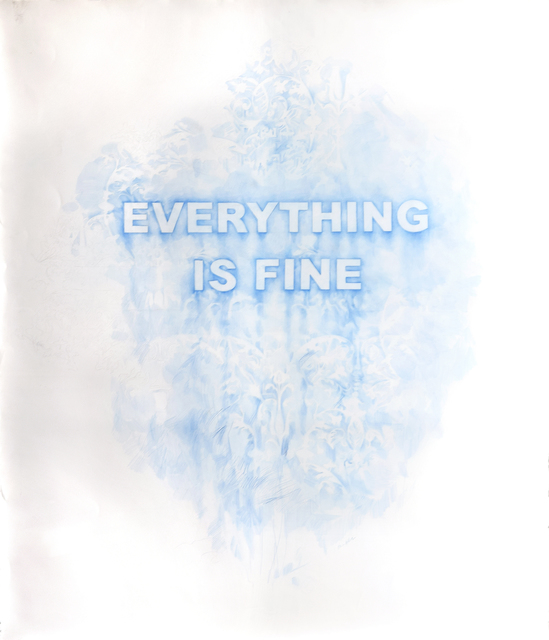 , 'Everything Is Fine,' 2017, Winston Wächter Fine Art