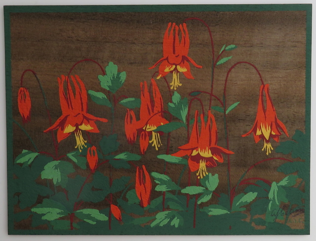 , 'Floral study - Red and yellow flowers,' , Arctic Experience McNaught Gallery