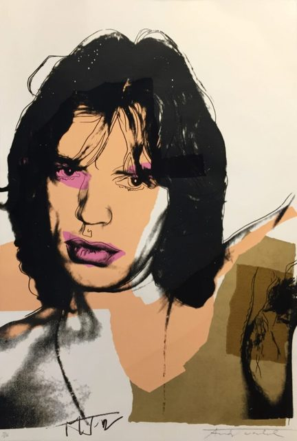 Andy Warhol, 'Mick Jagger II.141', 1975, Hamilton-Selway Fine Art