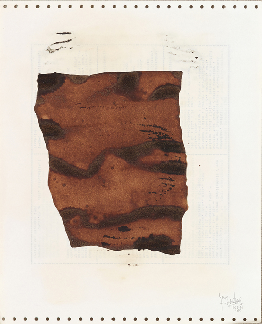 , 'Soy Sauce Drawings 8 酱油画 8,' 1988, Ink Studio