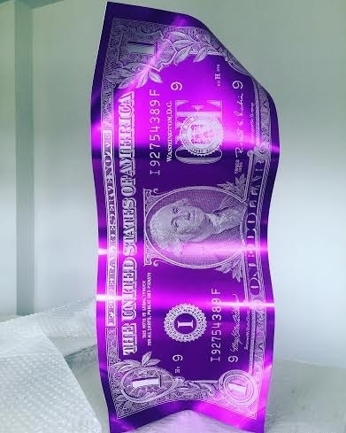 , 'One Dollar - (Purple),' , Art Angels