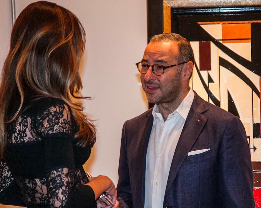 Liubov Belousova (BOCCARA ART) and Philippe Schriqui (Monaco Luxury Group)