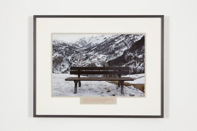 Sophie Calle, 'A l'espère / Sommet', 2017, Photography, Digital photograph, aluminum, frame, Perrotin