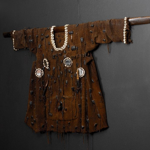 , 'Shamanic  jacket with with amulets (Bambara Tribe),' , Linda Bird Ltd