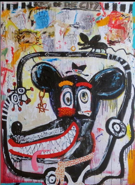 , 'King of the City,' 2014, IAZ Art Gallery
