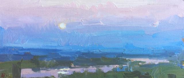 , 'Earth Shadow Rising,' 2018, Meyer Vogl Gallery