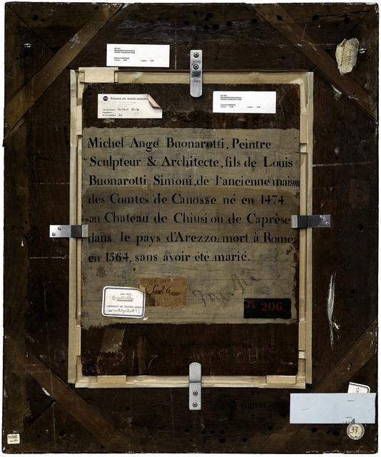 Philippe Gronon, 'Verso n°35, Portrait de Michel Ange, par Bugiardini Giuliano, collection du musée du Louvre', 2009, Modernism Inc.