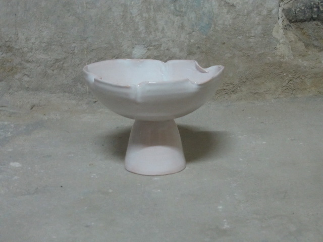 , 'Bowl with foot, stoneware, faience glazed interior/exterior,' , Gallery Naruyama