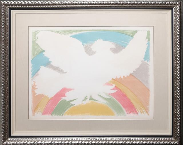 Pablo Picasso, 'Colombe Volant (a l'Arc en Ciel) (Bloch 712)', 1952, Print, Lithograph on Arches, RoGallery
