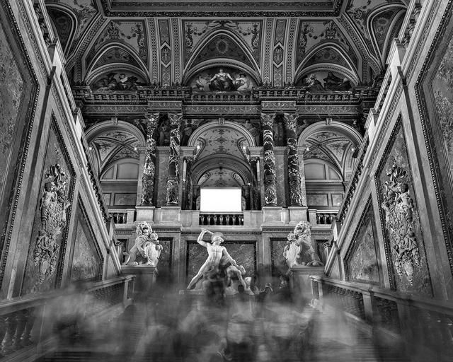 , 'Main Staircase - Kunsthistorisches Museum, Vienna,' 2014, Jackson Fine Art