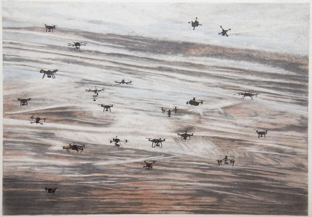 Micha Payer + Martin Gabriel, 'Drohnen #24', 2019, Christine König Galerie