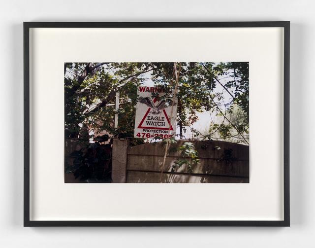 Kendell Geers, 'Suburbia 2', 1999, Stephen Friedman Gallery