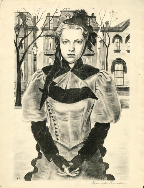, 'Sober Eighties,' ca. 1944, Thomas French Fine Art