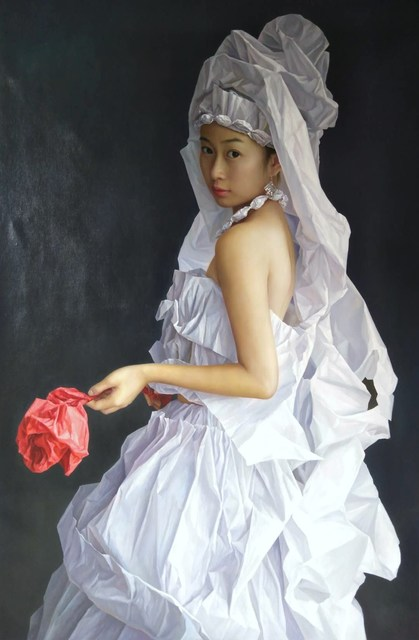 Zeng Chuanxing, 'White Paper Bride', 2019, Tanya Baxter Contemporary