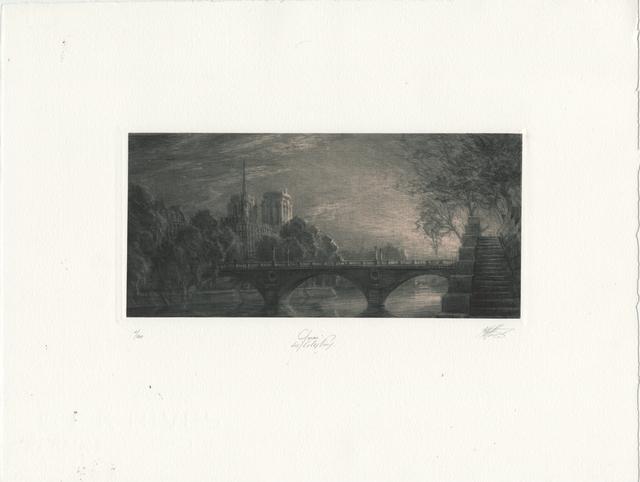 , 'Quai des Célestins [Celestin Quay],' Unknown, Childs Gallery
