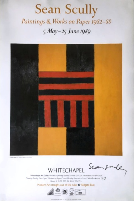 Sean Scully, 'Sean Scully: Paintings & Works on Paper: 1982-1988 (Hand Signed)', 1989, Alpha 137 Gallery