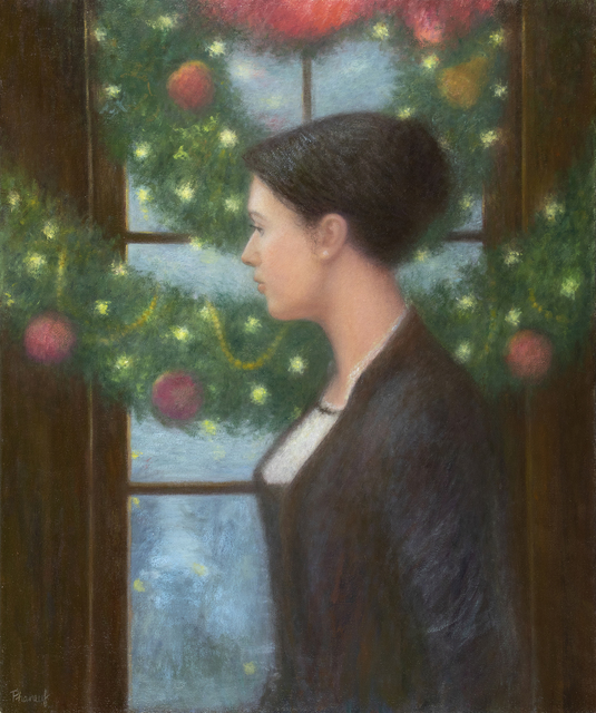 , 'Yule Reflection ,' 2018, The Guild of Boston Artists