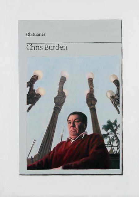 , 'Obituary: Chris Burden,' 2016, Charlie Smith London