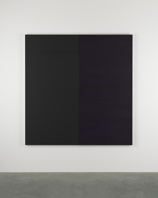 , 'Untitled Lamp Black No 22 ,' 2014, Frith Street Gallery