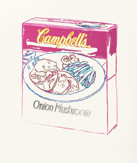 Andy Warhol, 'Campbell's Soup Box Onion Mushroom', 1986, Heritage Auctions