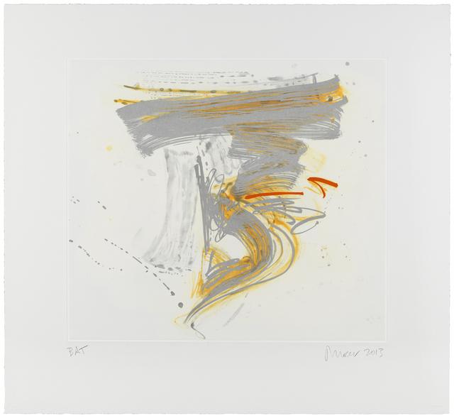 Jill Moser, 'Eclat', 2013, Print, Aquatint with Spitbite, Photogravure and Pochoir, Dubner Moderne