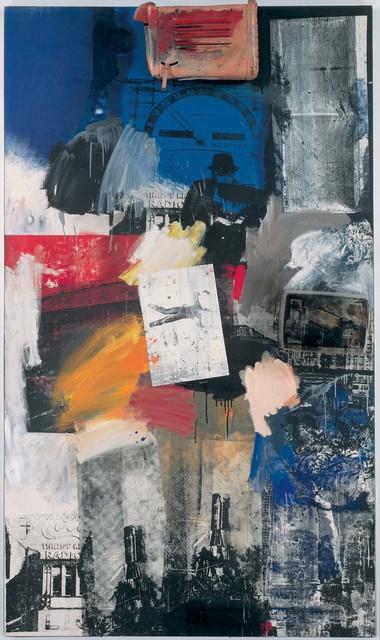 Robert Rauschenberg, 'Untitled', 1963, Oil, silkscreen ink, metal, and plastic on canvas, Robert Rauschenberg Foundation