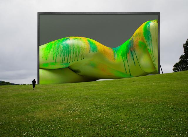, 'Installation Study #147:  Storm King Arts Center:  Melissa Re,' 2019, Lawrence Fine Art