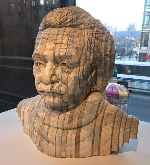 Long-Bin Chen, 'Einstein', 2018, Jim Kempner Fine Art