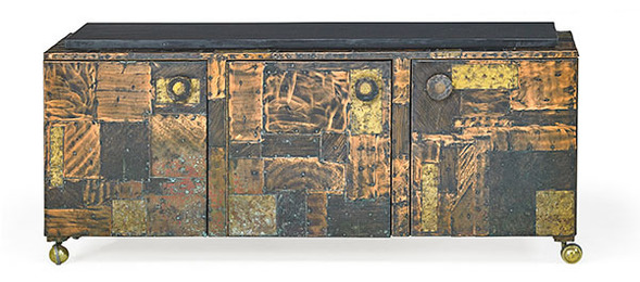 Patchwork cabinet, USA