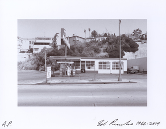 Ed Ruscha, '8543 Sunset Blvd. - 1966,' 1966-2014, CMA: Benefit Auction 2016