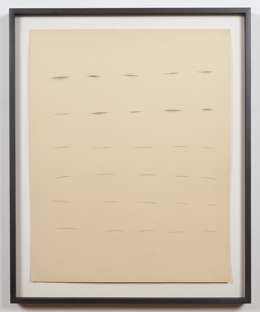 "Ree Morton, 'Untitled (""Line"" Drawing)', 1968-1970, Alexander and Bonin"
