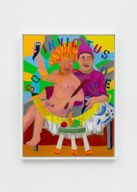 , 'The Banquet (Sol/Mithras),' 2019, Richard Taittinger Gallery