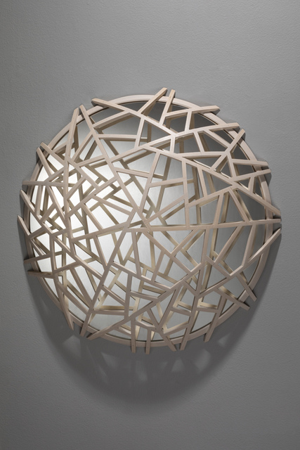 , 'White Ice Crack ,' 2016, Seraphin Gallery