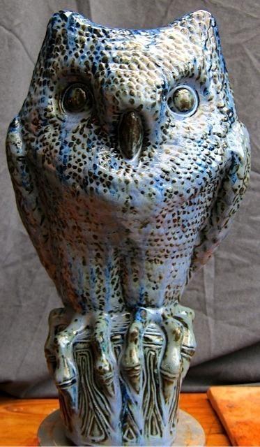 , 'Blue Owl,' 2014, Cristina Grajales Gallery