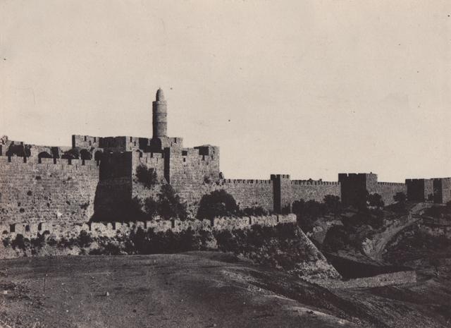 , 'Palestine: Jeruselum, Partie Occidentale des Murailles,' Neg. date: 1851 c. / Print date: 1851 c., Alan Klotz Gallery